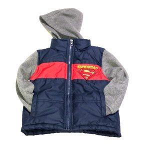 Other - Lil boys coat. Superman. EUC! Size 2/3T